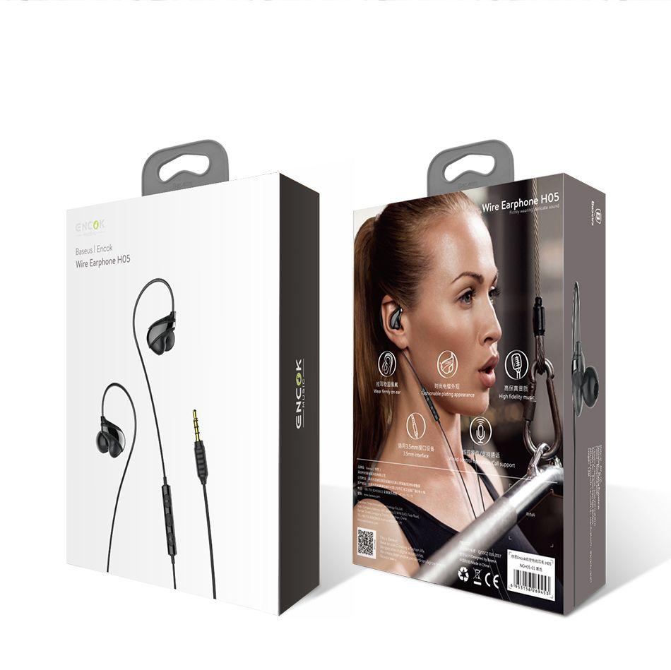 Fone de ouvido com fio Baseus H05