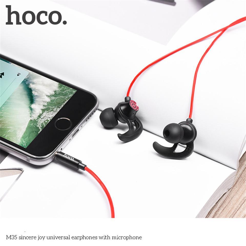 Fone de ouvido com fio Hoco M35