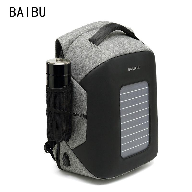 Mochila Baibu movida a energia solar À Prova D 'Água