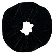 Elástico de Cabelo Scrunchie Ania Store Veludo Preto