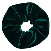 Elástico de Cabelo Scrunchie Ania Store Veludo Verde