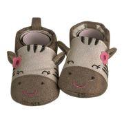 Sapato Bebê Ania Store Unicórnio Cinza