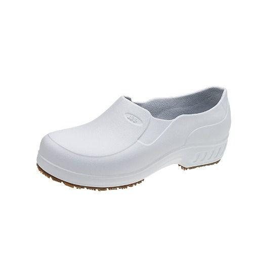 5b451503727c0 Sapato Antiderrapante Branco Flexclean Marluvas CA39213 - Proteloja EPI`s