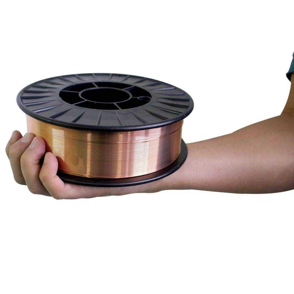 ARAME PARA SOLDA MIG 5 KG 0,8 MM V8 BRASIL