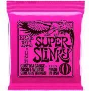 Encordoamento Guitarra Ernie Ball Super Slinky 009