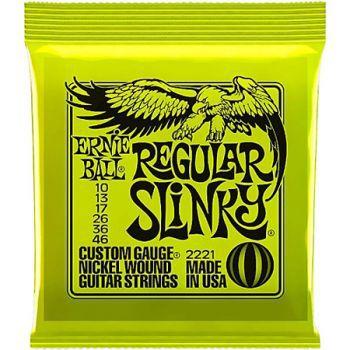 Encordoamento Guitarra Ernie Ball Regular Slinky 010