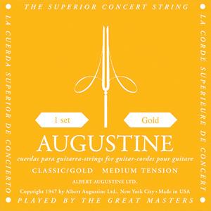 Encordoamento Violão Nylon Augustine Classic Gold - Tensão Média