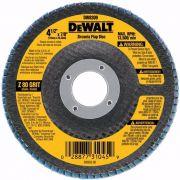 "Disco Abrasivo 15 unid Lixa Flap 4.1/2"" x 7/8"" Grão 80 Dewalt – Dw8309p-ar"