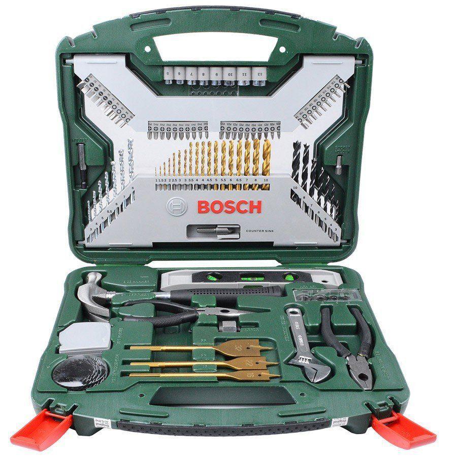 Kit Furadeira Dewalt 800w + Brocas soquetes completos Bosch - PC Ferramentas 23694c1aff2