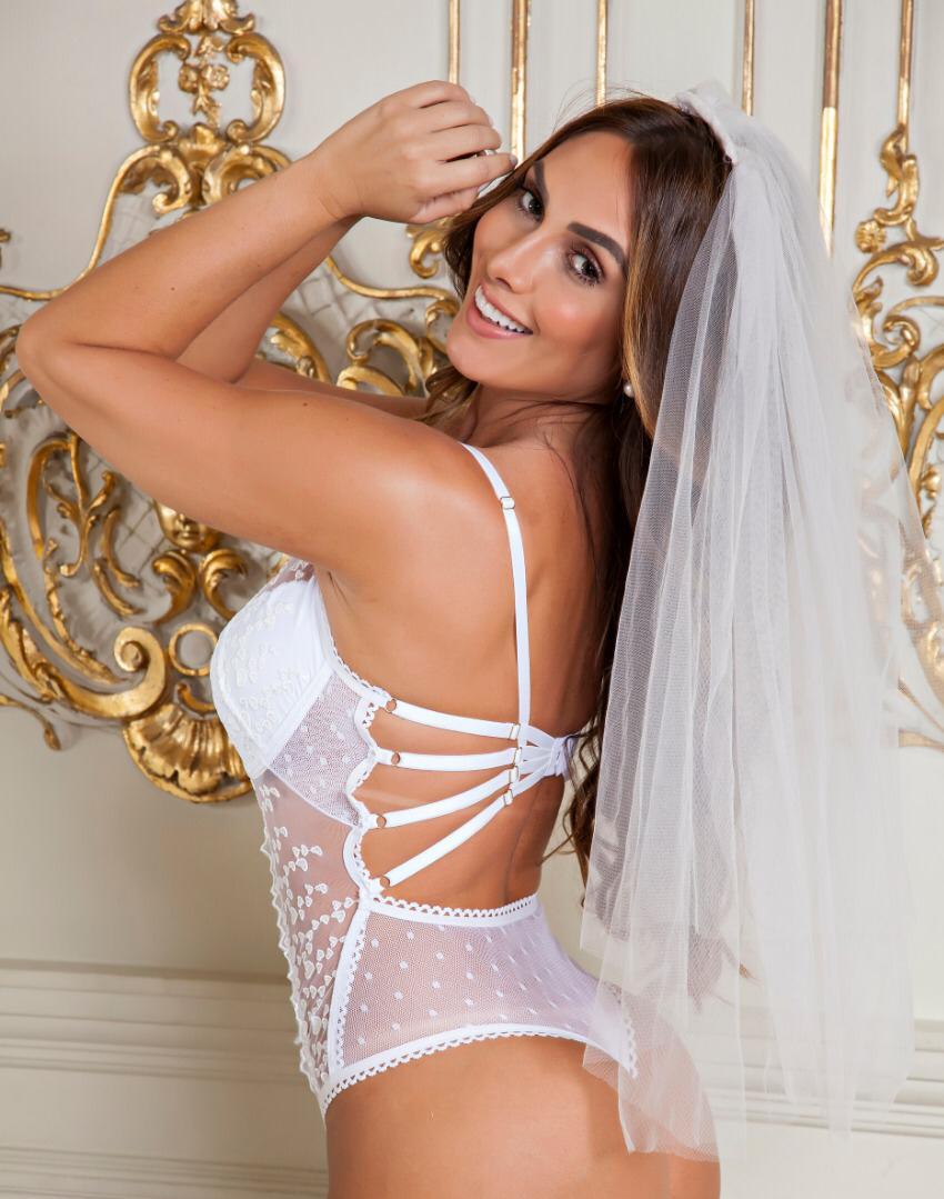 Body Bride Branco - Segredo Lacrado