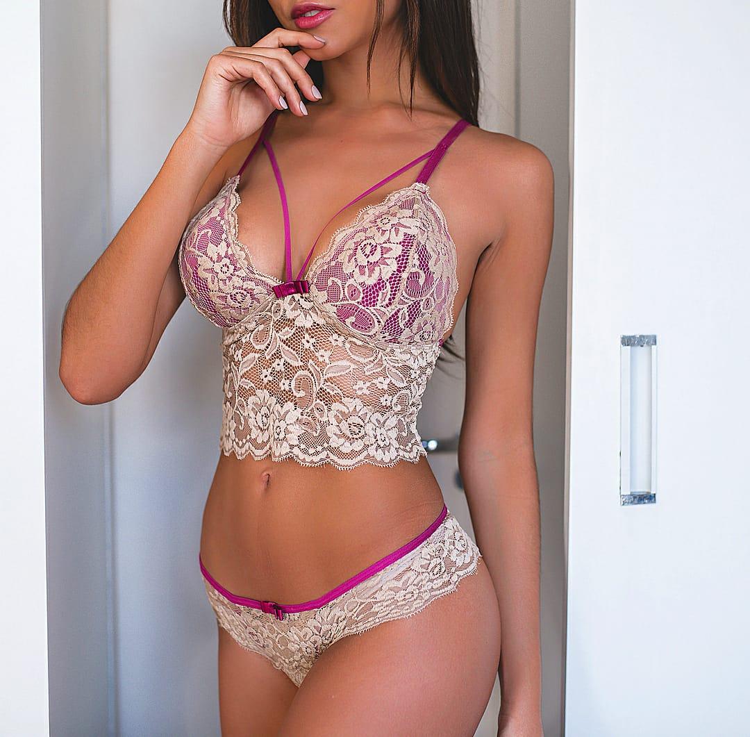 Bralette Nude com Amora