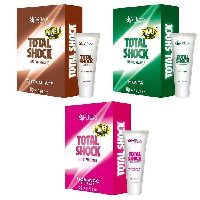 TOTAL SHOCK EXCITANTE BEIJÁVEL AROMÁTICO