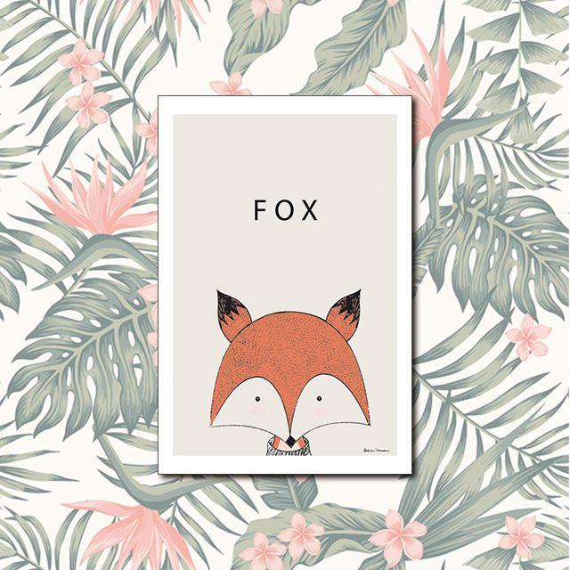 Poster Decorativo Fox PL311