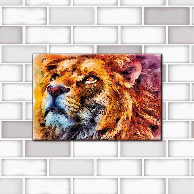 Poster Decorativo Leão PL335