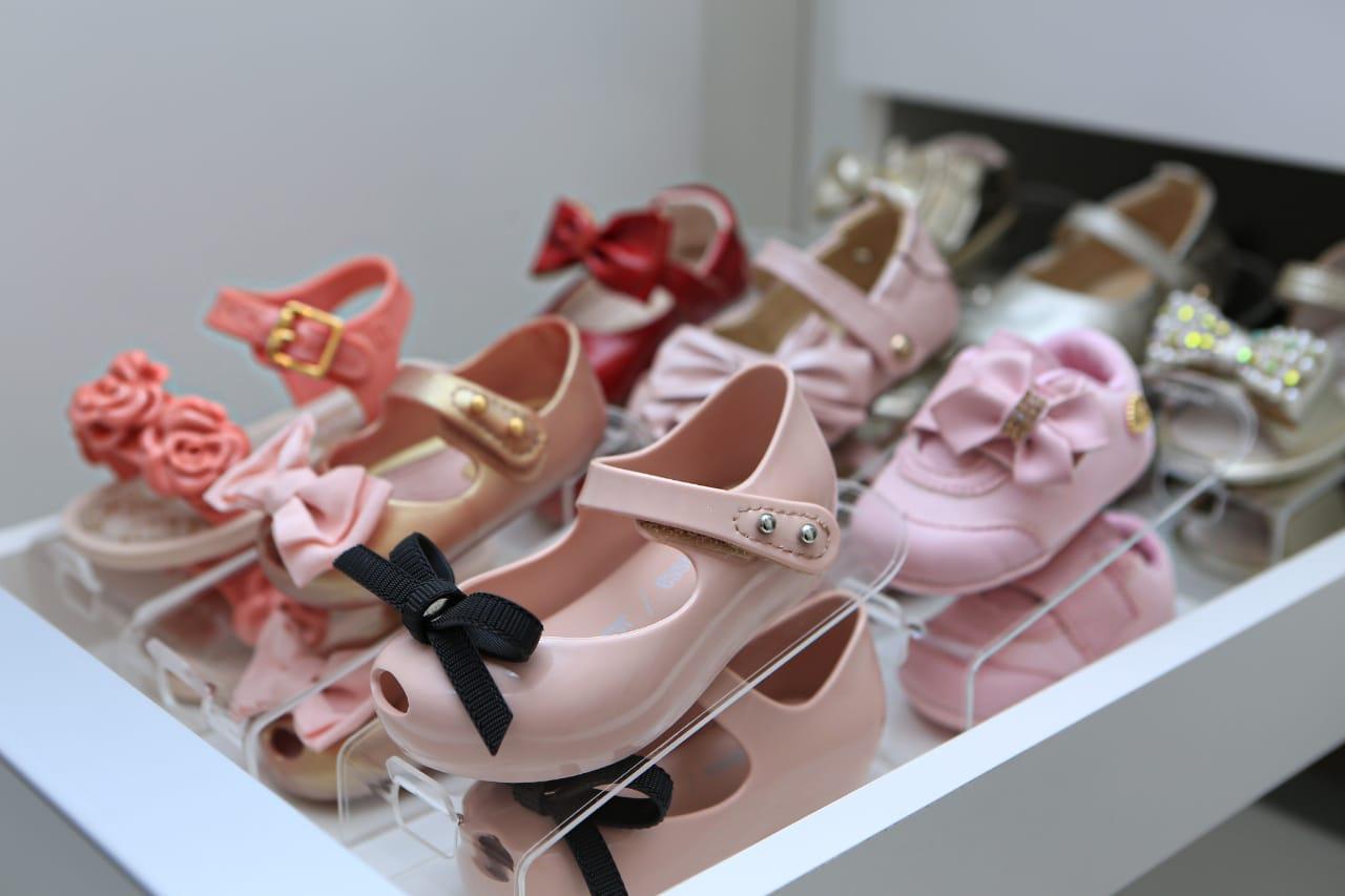 Organizador de Sapatos Baby Antonella - Kit 10 unidades