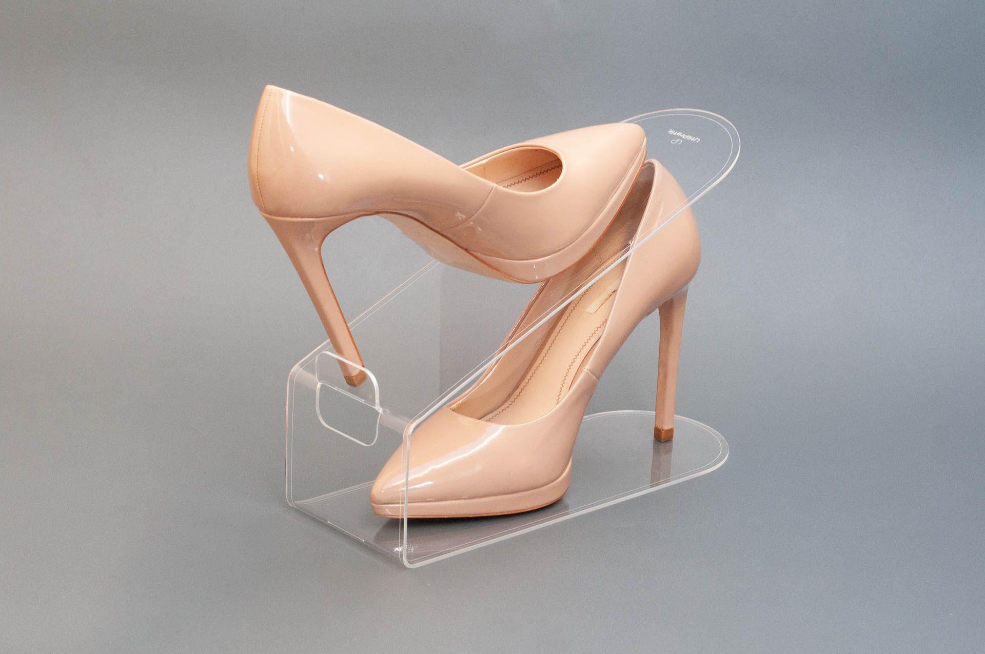 Organizador de Sapatos Cristal - Kit 10 unidades
