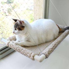Cama de Gato para Janela Gatton Catbed Carneirinho