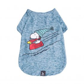 Camiseta Inverno Snoopy Wood Bowl Slide Zooz Pets
