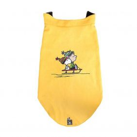 Colete Zooz Pets Snoopy Linus Sled Vest