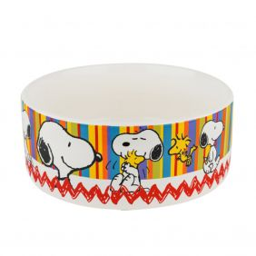 Comedouro de Cerâmica Zooz Pets Snoopy II 500 mL