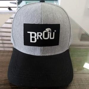 Boné Brou Steel/Black