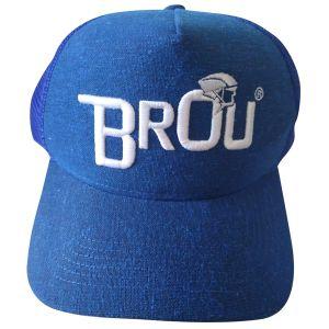 Boné Trucker Telinha Brou Azul/Branco