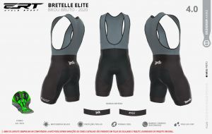 Bretelle Brou New Black Clean Forro em Gel
