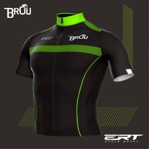 Camisa Brou New Preto com Verde