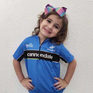 Camisa Infantil Azul Unissex Edição Limitada