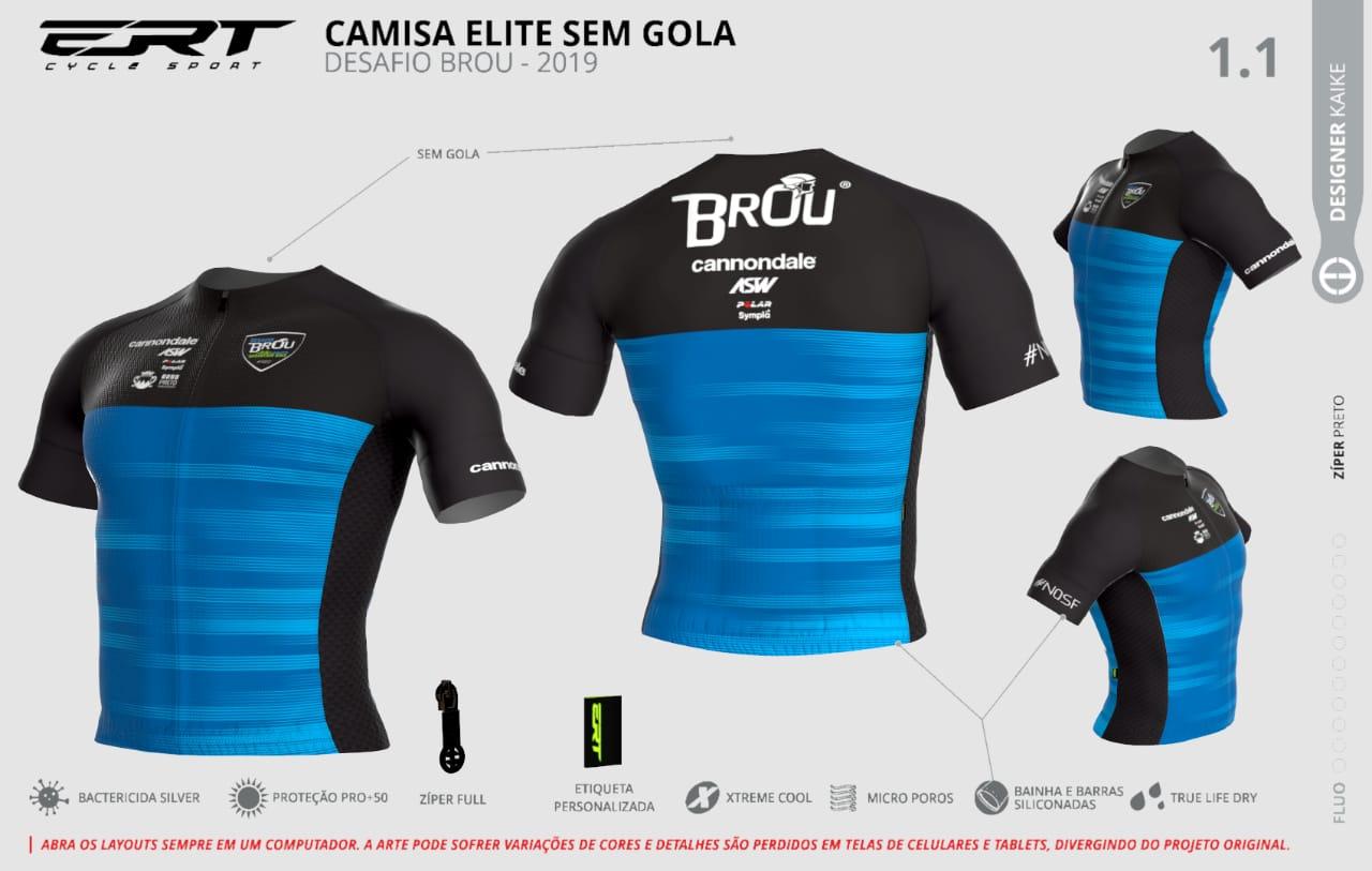 Camisa Desafio Ouro Preto 2019