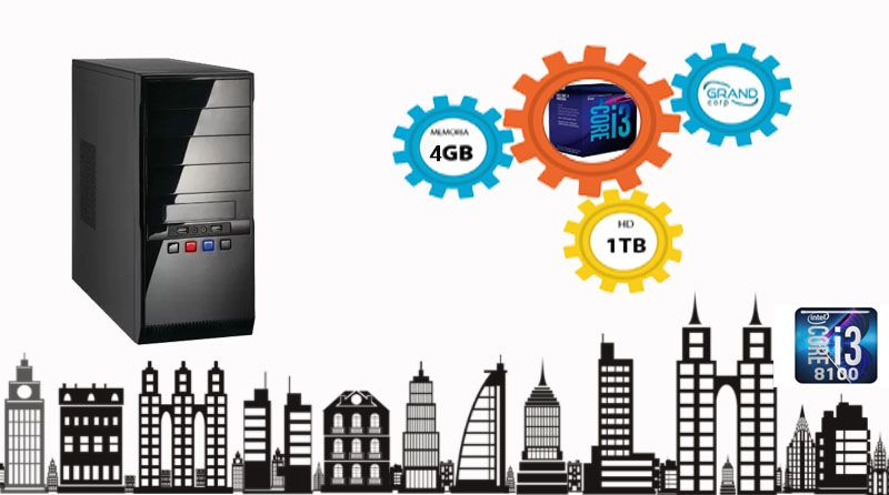 Desktop PC CORP Core i3 8ª geração