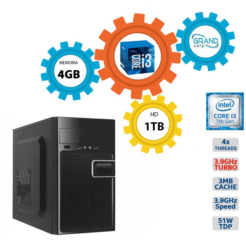 Desktop PC CORP Core i3 7ª geração