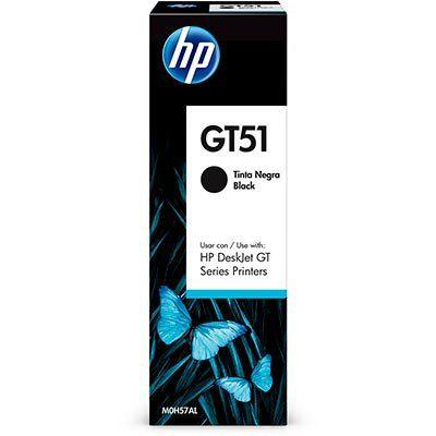 TINTA PRETA PARA IMPRESSORA HP GT51 - M0H57AL