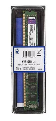 MEMORIA 8GB DDR3 1600 KINGSTON