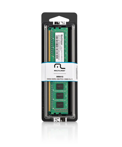 MEMORIA P/ DESK 4GB DDR3 1600