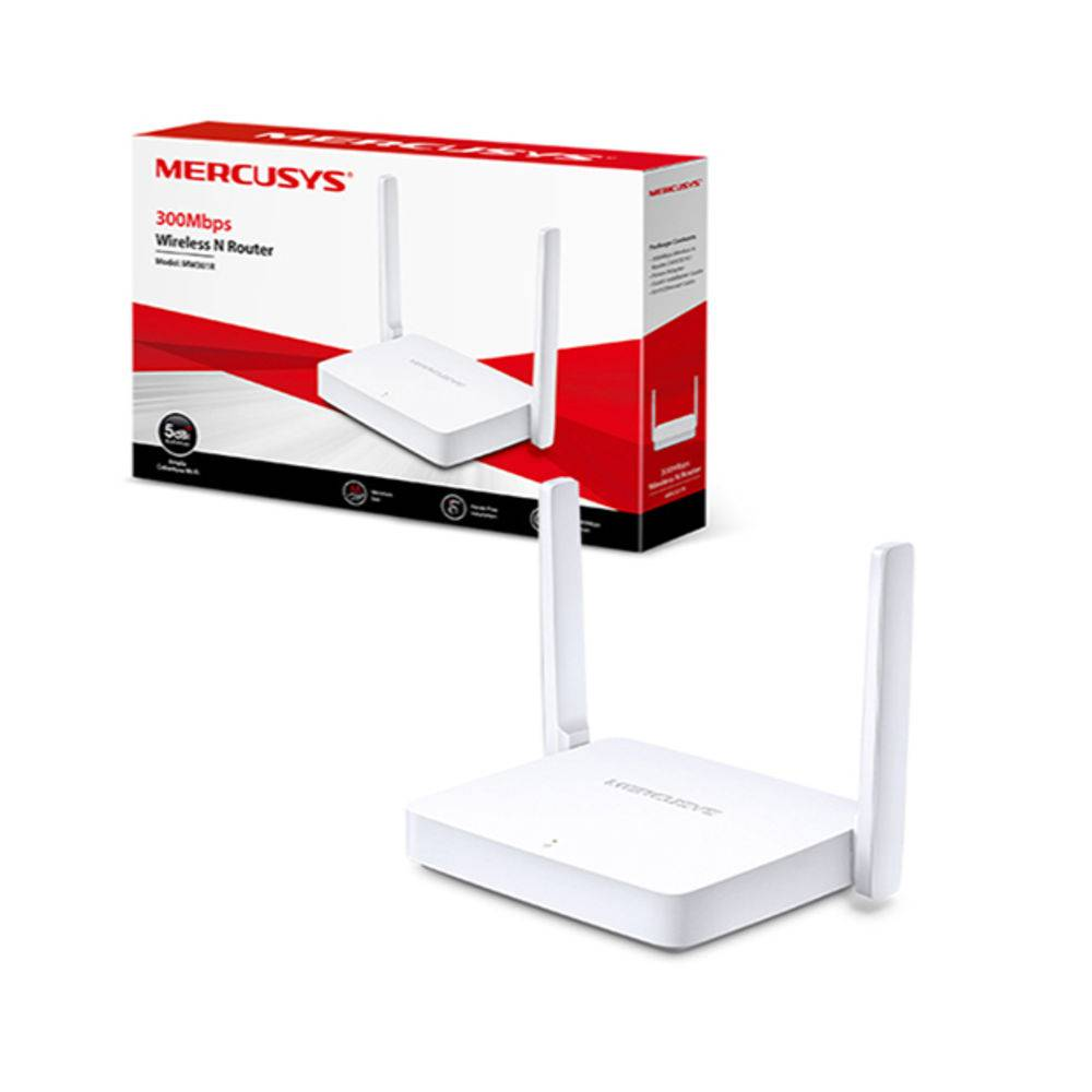 ROTEADOR WIRELESS MERCUSYS 300MBPS MW301WR