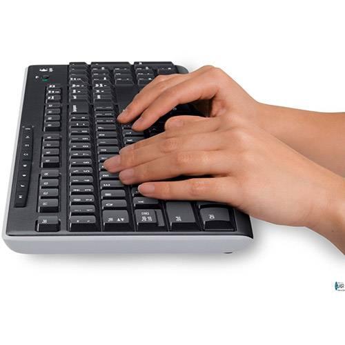Teclado e Mouse Logitech Wireless Combo MK270