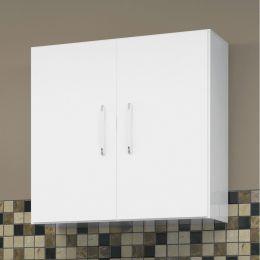 Armário 2 portas Branco - EJ Móveis
