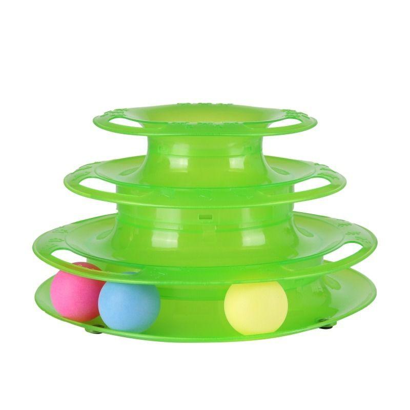 Brinquedo de plástico com bolinhas