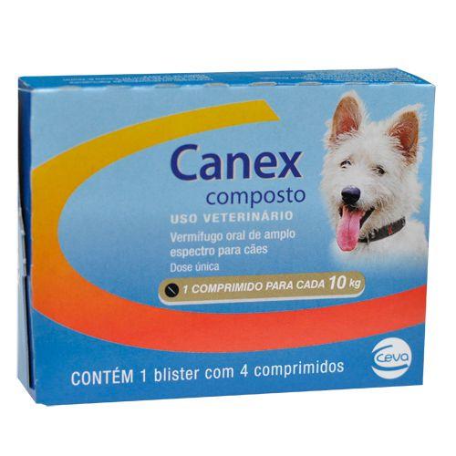 Canex Composto - Vermífugo para cães