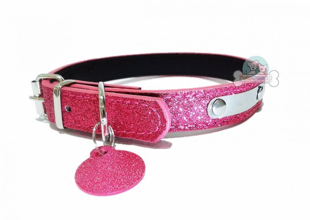 Coleira Pink