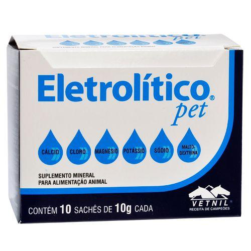 Eletrolítico Pet - Caixa com 10 sachês