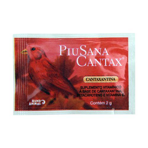 Piusana Cantax - sachê 2g