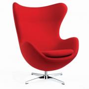 Cadeira Shell Cromado/Branco 47X51X86H