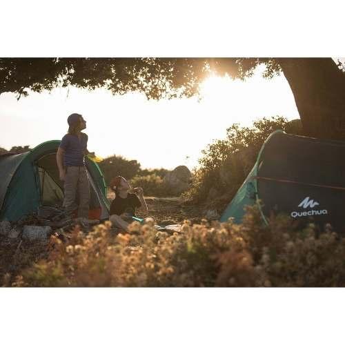 7436a484c Barraca Trilha Camping 2 Seconds Easy 3 Pessoas Quechua Impermeável ...