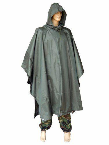 Capa De Chuva Impermeável Camuflagem Militar Impermeável Masculina Motociclista Poncho de Chuva