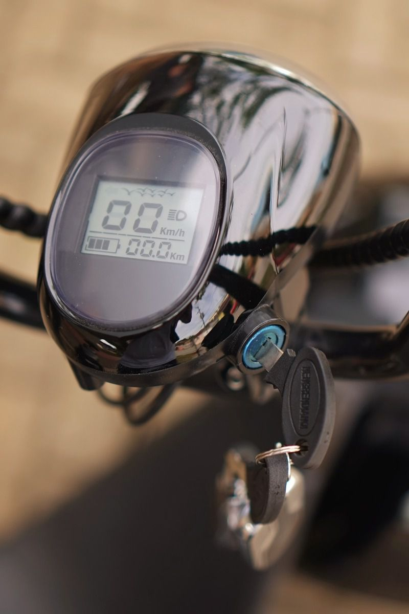 Painel LCD com Farol para scooter elétrica citycoco - X7