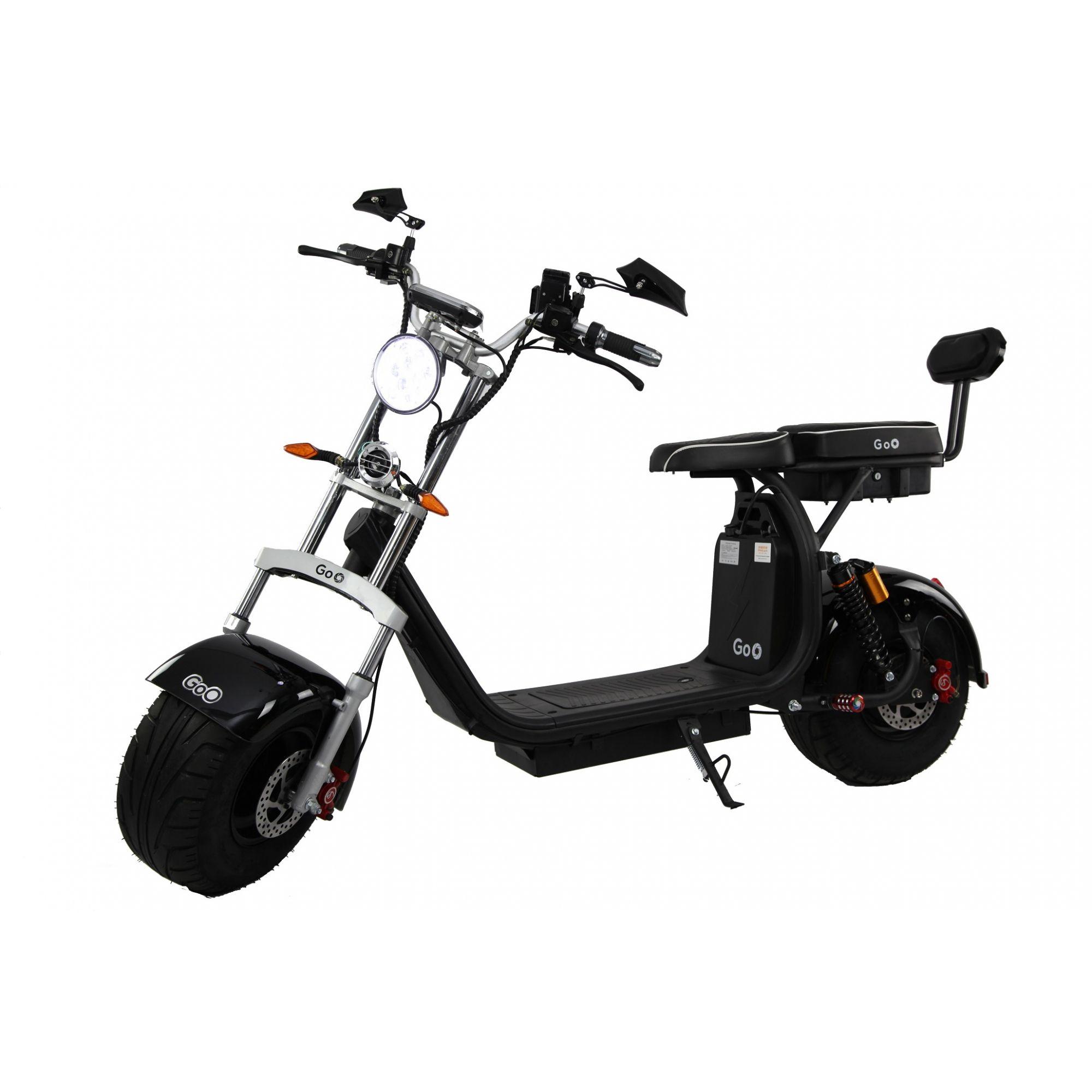 Scooter elétrica citycoco X10 1000W com bateria 15Ah