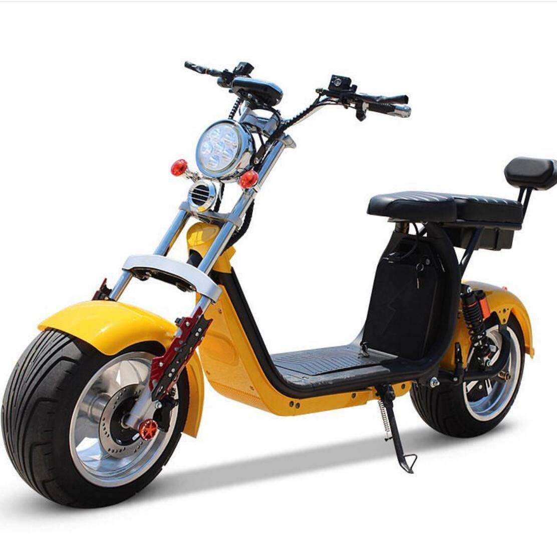 Scooter elétrica citycoco X12 3000W com bateria 50Ah