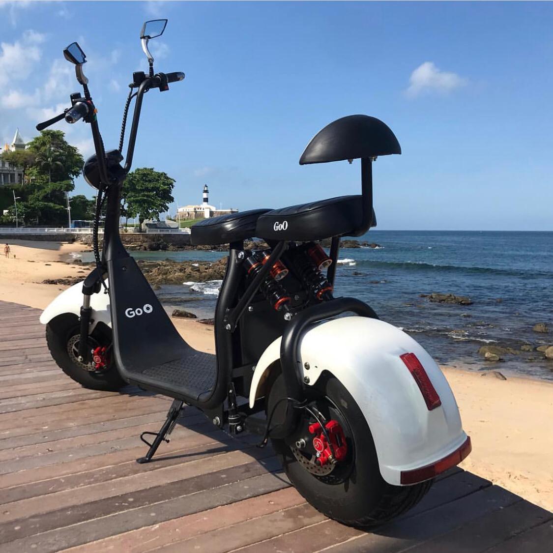 Scooter elétrica citycoco X7 1000W